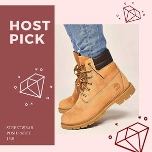 Classic Timberland Boots in 'Wheat Nubuck' -5